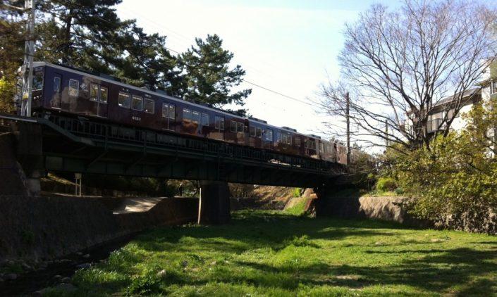 夙川の電車