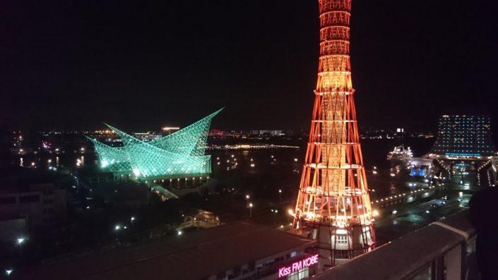 ノートルダム神戸6階からの写真