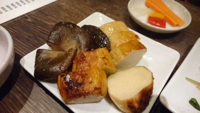 エリンギの味噌焼き