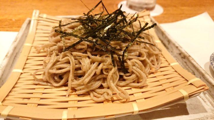 天ぷら の村の天ざるそば2