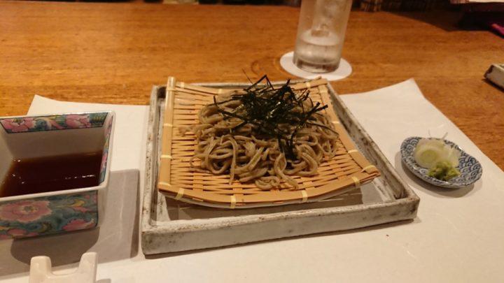 天ぷら の村の天ざるそば1