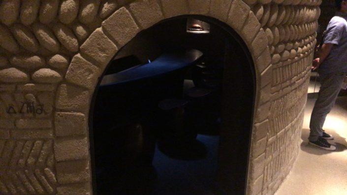 小部屋入り口