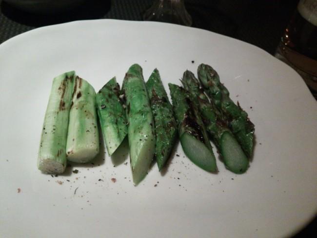 香川グリーンアスパラ焼