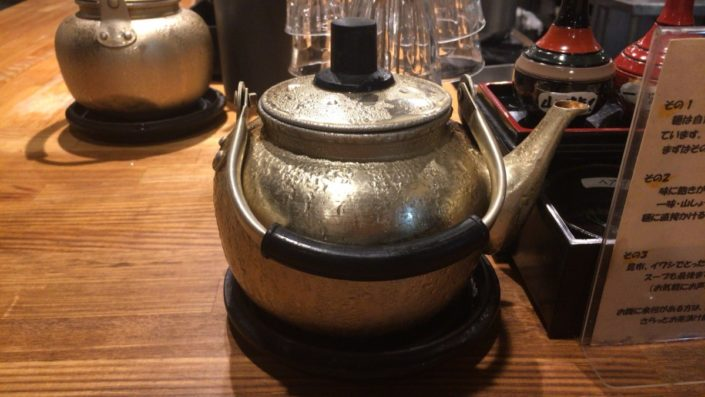お茶のやかん