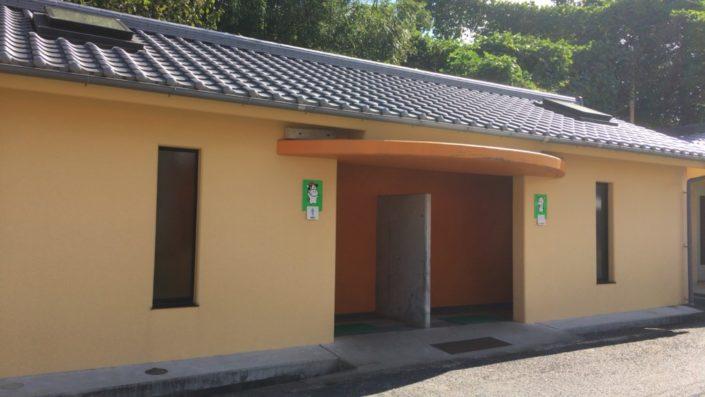 淡路島牧場のトイレ