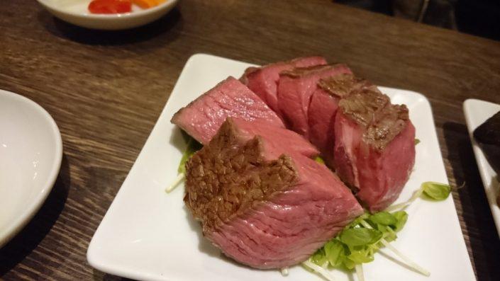 熟成肉のランプ