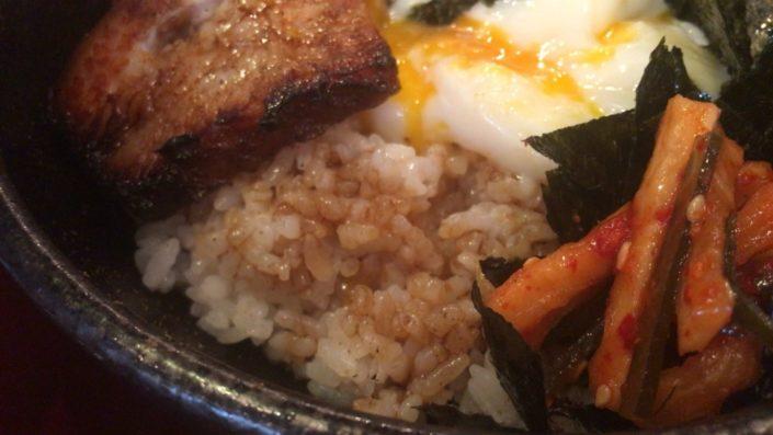 焼豚丼のご飯