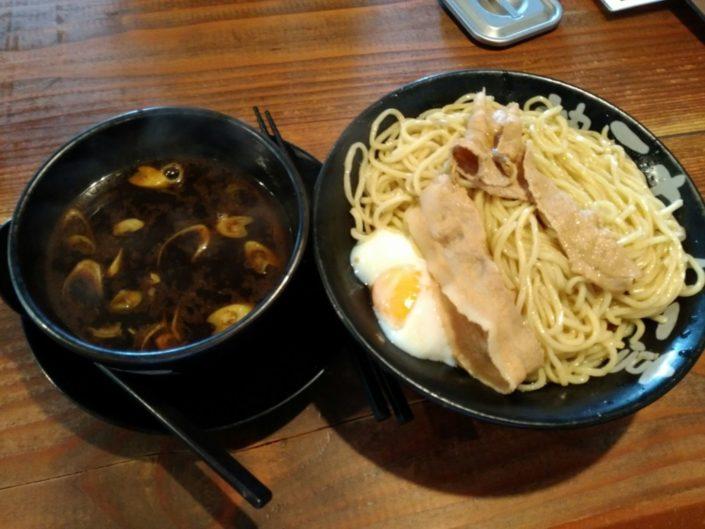チェリー亭のつけ麺