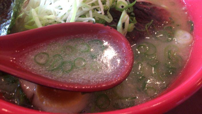 上ラーメンのスープ
