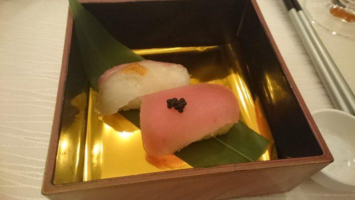紅白握り寿司