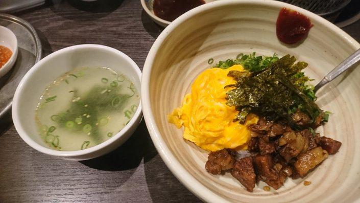 たじま屋丼 スープセット