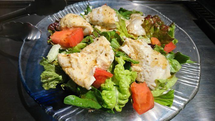 ゴマ豆腐サラダ