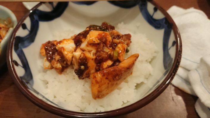 やすだの激辛麻婆豆腐とご飯