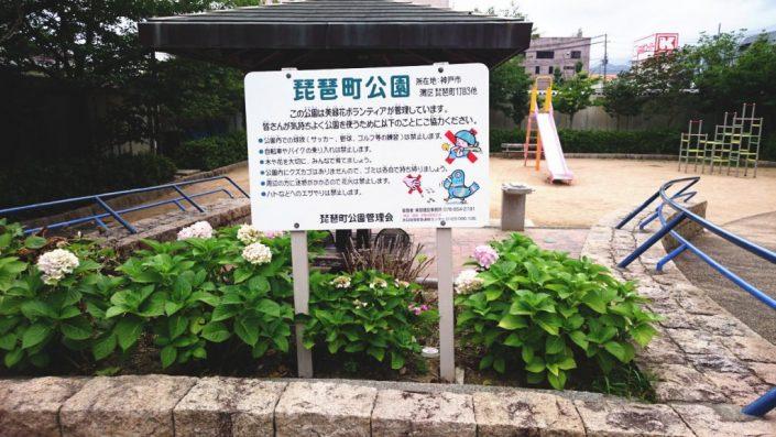 琵琶町公園