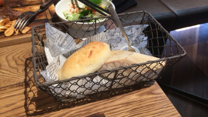 8ビーフのパン