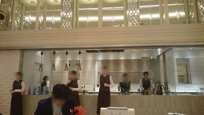 ノートルダム神戸のキッチン