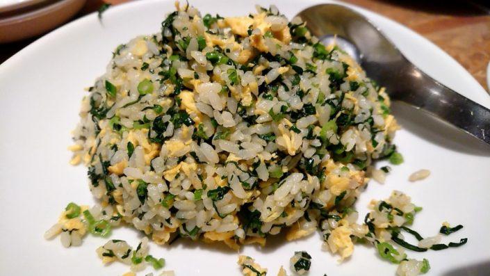グリーン炒飯