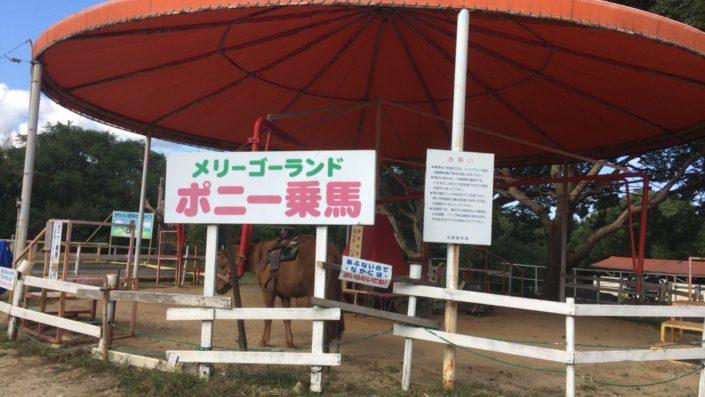 ポニー乗馬(メリーゴーランド)