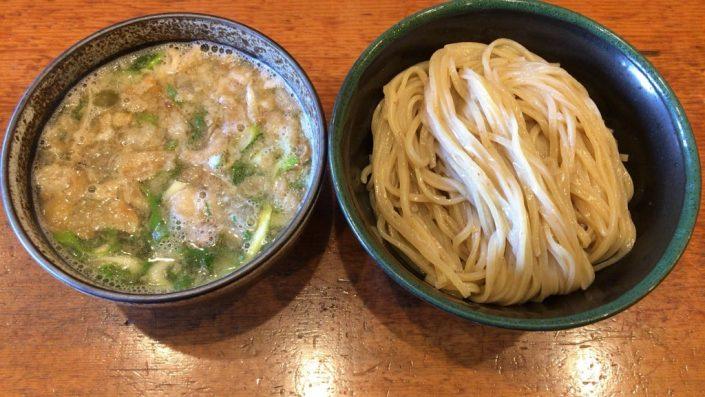 油かす塩つけ麺