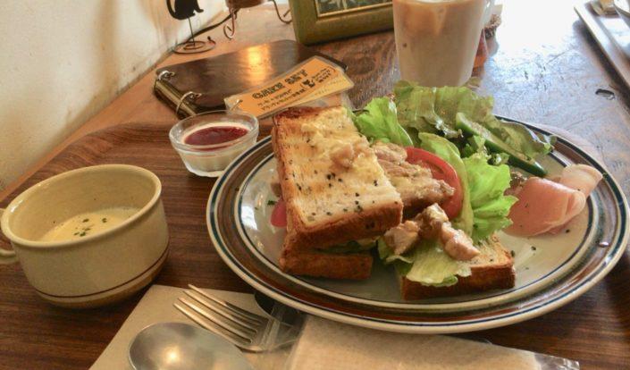 サンドイッチ(開いた方)