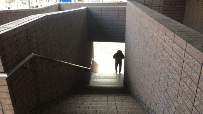 エトレの階段